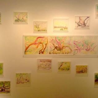 Zahidah's paintings