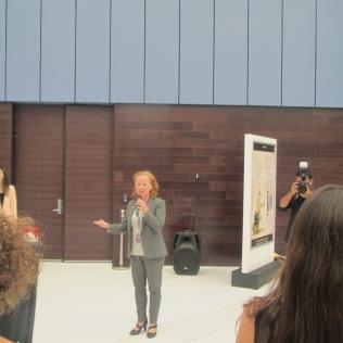 Gallery Director Maya Allison opening speech