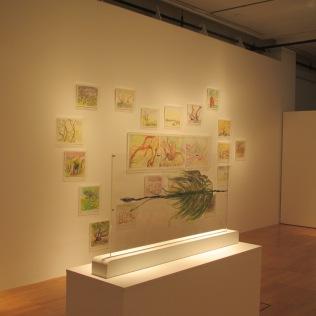 Geraldine and Zahidah's works